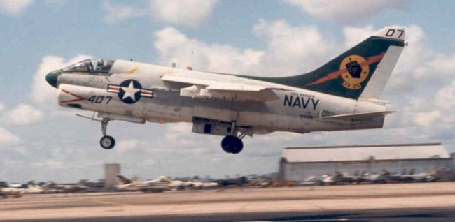 Vought A-7E Corsair II dell'U.S. Navy