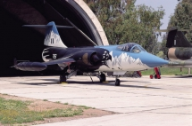 Lockheed F-104G Starfighter della Hellenic Air Force