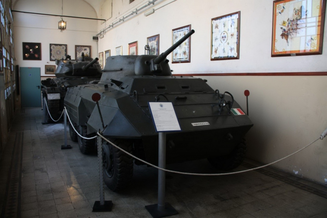 M8 Greyhound dell'Esercito Italiano