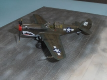 Curtiss P-40N-5 Warhawk - Academy - 1/72