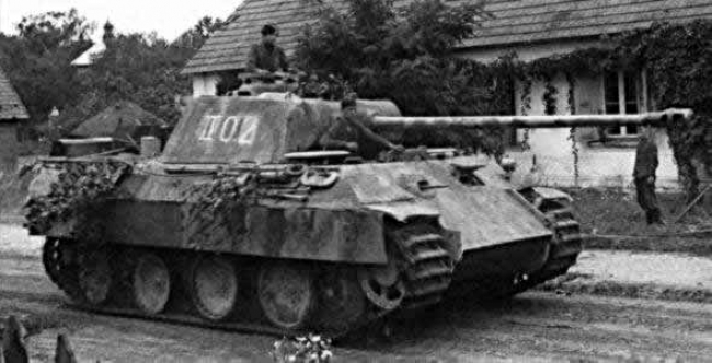 Panther Ausf. G - Germania aprile 1945