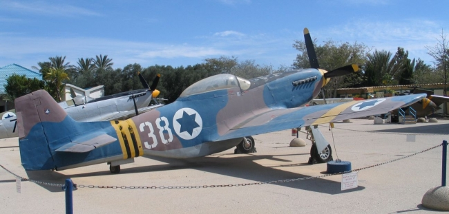 North American P-51D israeliano - Matchbox - 1/72