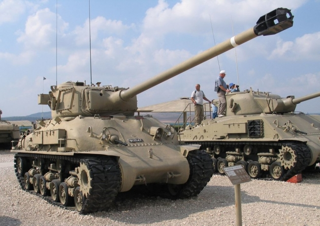 Israeli Sherman M-51 della Israeli Defense Force