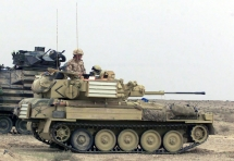 "Alvis FV107 Scimitar - Operation ""Desert Storm"""